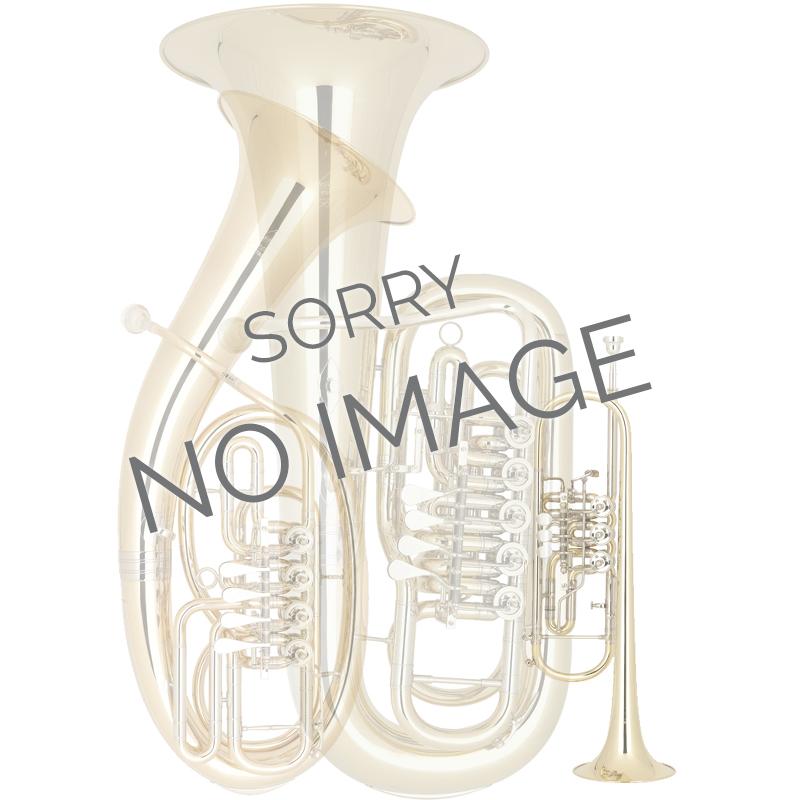 BBb tuba, wide, bell 45 cm, 4 valves