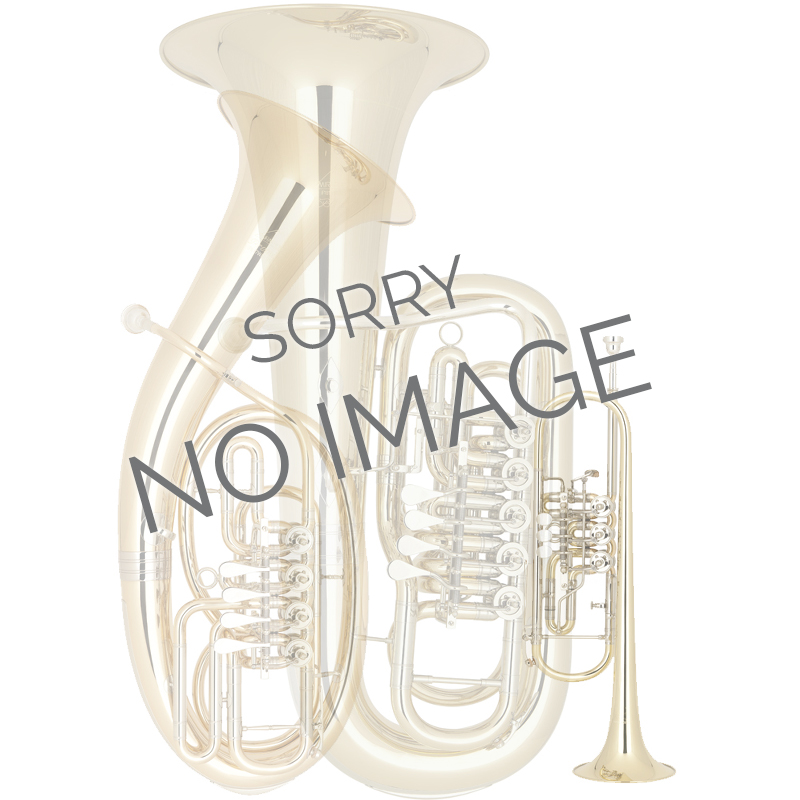Bb euphonium, compensating, ergonomic, 4 valves
